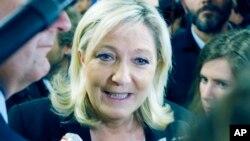 Лідер Національного фронту Марі Ле Пен