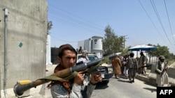 Talibanski borci u Kabulu