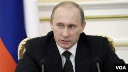 Perdana Menteri Rusia Vladimir Putin.