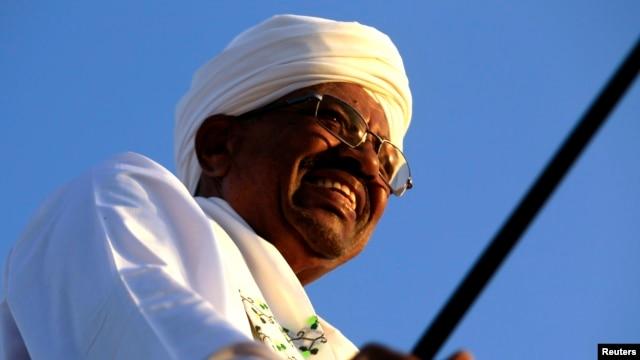 FILE - Sudanese President Omar al-Bashir