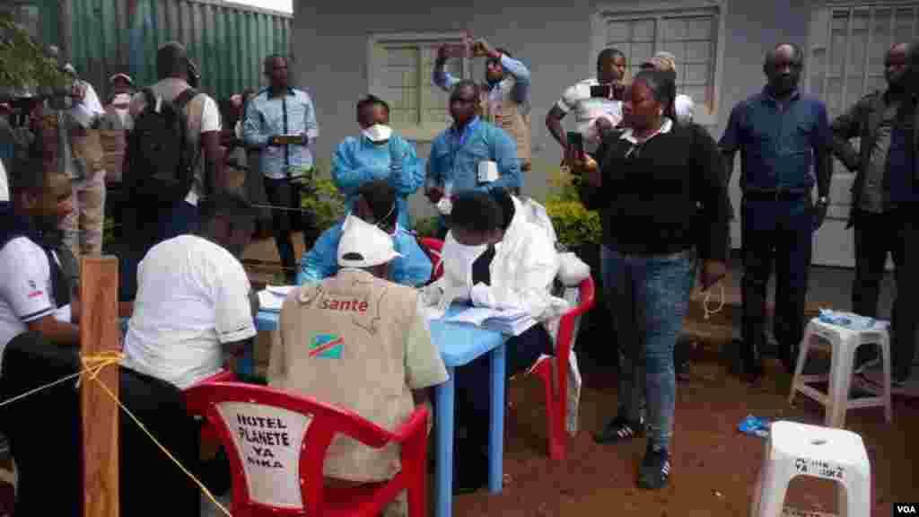 Congo Ebola vaccination