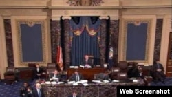 Заседание Сената США