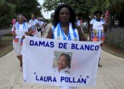 """Berta Soler, líder das Mulheres de Branco: """"Estamos contentes com a morte de um ditador"""""""