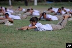 ریتا دیوی تین ماہ کی تربیت حاصل کرنے والوں میں شامل ہیں۔