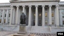 美国财政部(资料照)