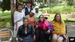 Special Advisor Judy Heumann and a team from the U.S. met with staff from the Desta Mender Fistula Hospital in Ethiopia.
