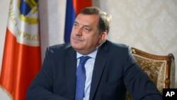 Milorad Dodik pod sankcijama jer opstruira provedbu Dejtonskog sporazuma