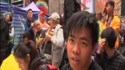香港警方佔中最後清場
