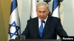 以色列總理內塔尼亞胡本月訪問紐約(資料圖片)