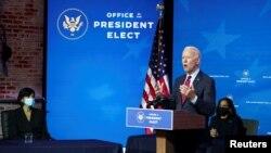 ABŞ-ın yeni seçilmiş prezidenti Co Baydenin administrasiyasında səhiyyə sahəsində yüksək vəzifələrə namizədləri təqdim edir, 8 dekabr, 2020.