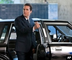 "Matthew McConaughey as defense attorney Mick Haller in ""The Lincoln Lawyer"""