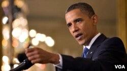 Presiden AS Barack Obama menilai pidato Ahmadinejad soal serangan teroris 11 September 2001 penuh kebencian.