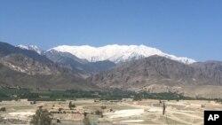 Khu vực thuộc Quận Achin, thành phố Jalalabad, Afghanistan sau khi Mỹ ném bom GBU-43 hôm 13/4/201