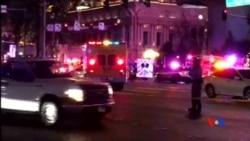 2015-12-21 美國之音視頻新聞: 拉斯維加斯發生開車衝上人行道事件