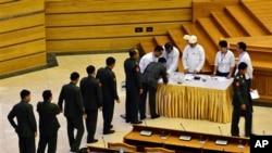 緬甸國會議員投票