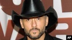 Tim McGraw es uno de los artistas más destacados de Nashville.