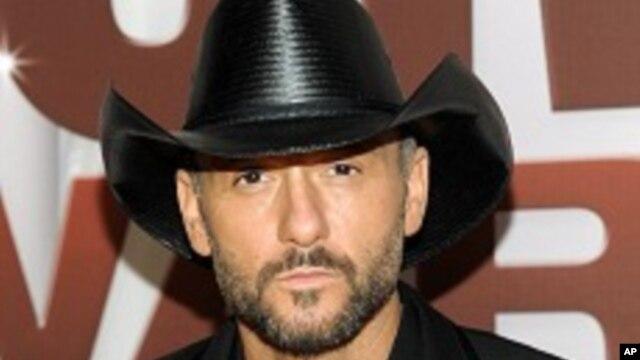 Tim McGraw es uno de los más destacados artistas de Nashville.