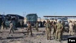 انفجار در کنار اتوبوس زائران ایرانی در سامرا