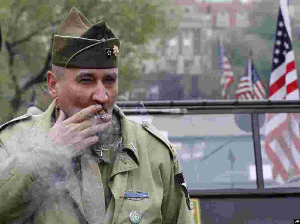 هفتاد و دومین سالگرد پایان جنگ جهانی دوم در پراگ