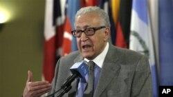 Utusan Perdamaian PBB-Liga Arab, Lakhdar Brahimi (Foto: dok).