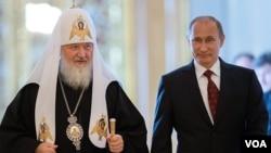 რუსეთის პატრიარქი და პრეზიდენტი