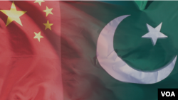 Pakistan and China Flags