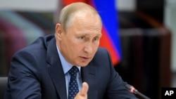 Presiden Rusia Vladimir Putin menyebut kecerdasan artifisial akan menjadi masa depan seluruh umat manusia (foto: dok).