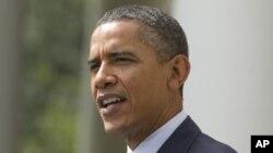 奧巴馬總統星期一提出一項三萬億美元的削減赤字計劃