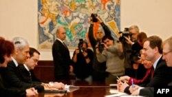 Predsednik Srbije Boris Tadić i ministar za evropske poslove Danske Nikolaj Vamen su se sastali danas u Predsedništvu Srbije