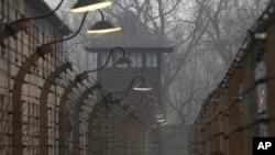 Campo de exterminio nazi de Auschwitz en Oswiecim,Polonia.