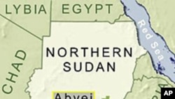 Sudan-Abyei map