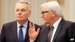 Министры иностранных дел Германии и Франции