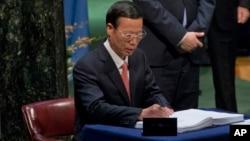Phó Thủ tướng Trung Quốc Trương Cao Lệ.
