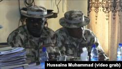 Des officiers de l'armée nigériane, Nigeria, 25 novembre 2016.