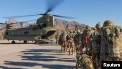 په افغانستان کې امریکایي ځواکونه - عکس: ارشیف