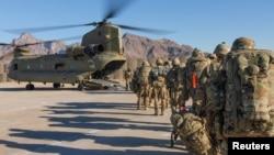 په افغانستان کې امریکایي سرتیري