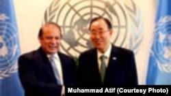 Nawaz Sharif e Ban Ki-Moon