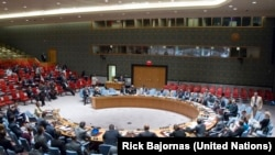 The U.N. Security Council voted on Thursday, May 28, 2015 to extend the mandate of the U.N. Mission in South Sudan (UM<ISS) by six months untilt he end of November.