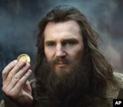 "Liam Neeson as Zeus in ""Clash of the Titans"""