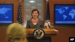امریکی محمکہ خارجہ کی ایک ترجمان وکٹوریہ نولینڈ