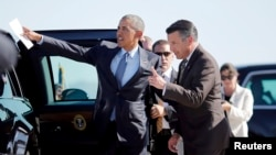 Президент Обама и Брайан Сандоваль