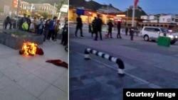 藏族僧人自焚(网络图片)