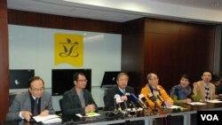 真普聯公佈民調顯示,有稍多香港市民贊成政治篩選特首候選人 (美國之音特約記者 湯惠芸)