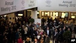 42届达沃斯年会在瑞士达沃斯举行
