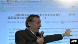 Владелец Интернет-проекта WikiLeaks Джулиан Ассандж (архивное фото)
