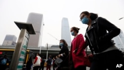 北京嚴重空氣污染是其中一個妨礙營商的原因(資料圖片)