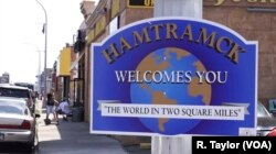 The city of Hamtramck, Michigan, surrounded by Detroit, is home to many immigrant neighborhoods, including Banglatown.