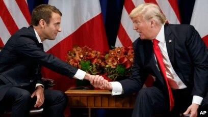 Macron Trump'ın İran kararına hata dedi