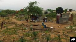 Kambanda depois da demolições (Arquivo - Angola)
