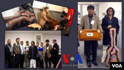 Pakistani musicians and artists visit VOA's Urdu Service